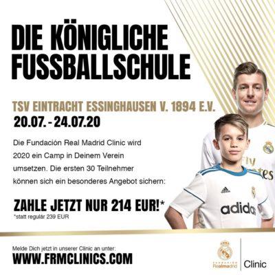 TSV Essinghausen bei der Königlichen Fußballschule